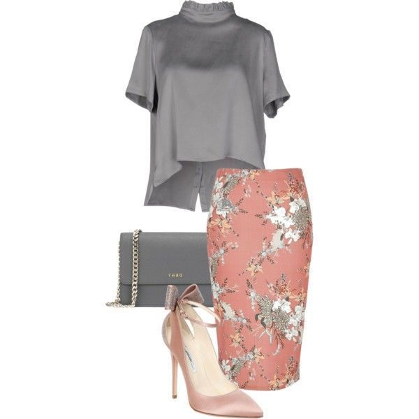 A fashion look from August 2016 featuring River Island skirts, Brian Atwood pumps and DKNY handbags. Browse and shop related looks. #brianatwood2016 #brianatwoodhandbags