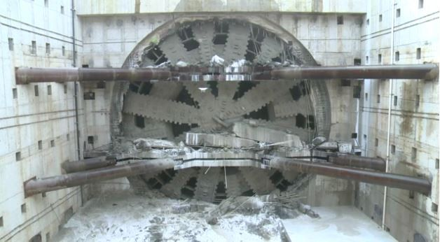 Daylight for TBM Bertha at ?end of epic journey