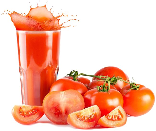 The Juice Lady has some great recipes for tomatoes in your juicer!
