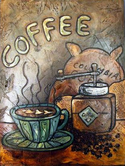 Coffee #coffee #art #painting