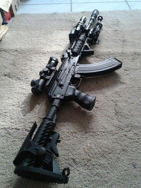 AK 105 DMR tática airsoft