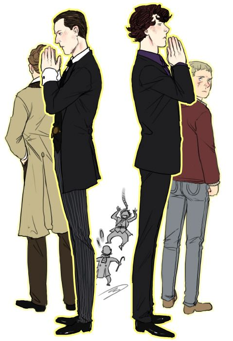 my contribution to The Art of Deduction fanbook: http://aguidetodeduction.tumblr.com/post/17104271503/save-undershaw-house-submissions-needed it's still accepting submissions and the money goes to a good cause! go check it out :)