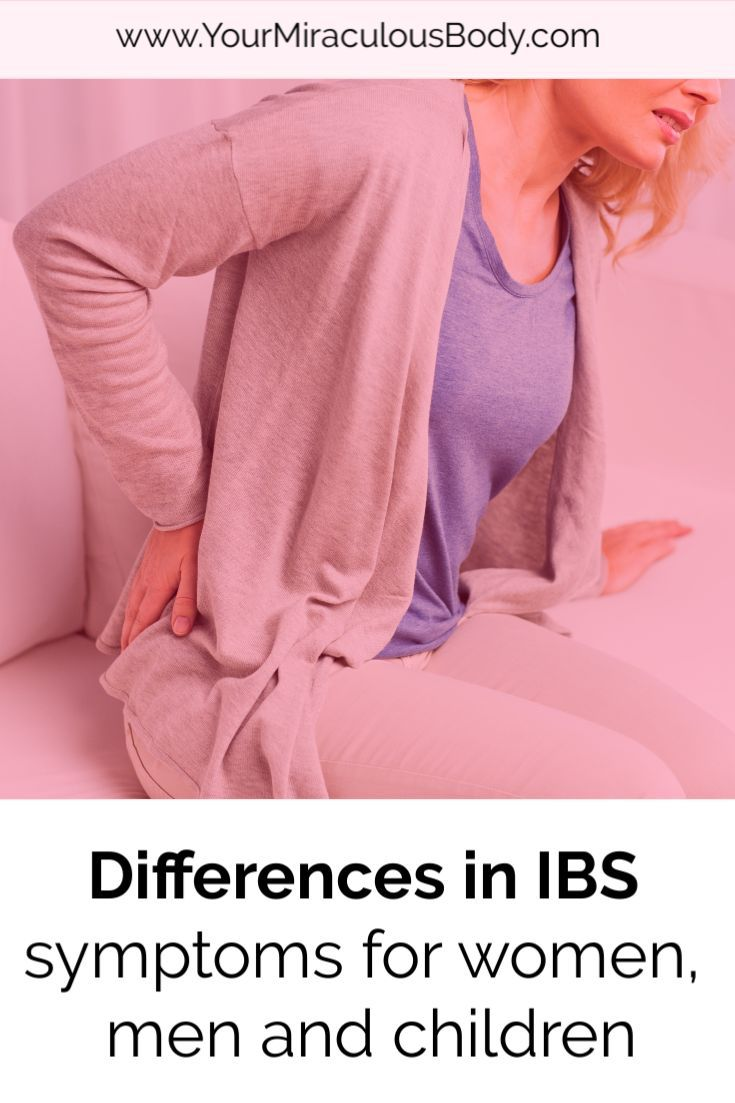 IBS Symptoms vary between Females, Males and Children