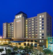 Courtyard Marriott--$1284.81 total for 3 nights