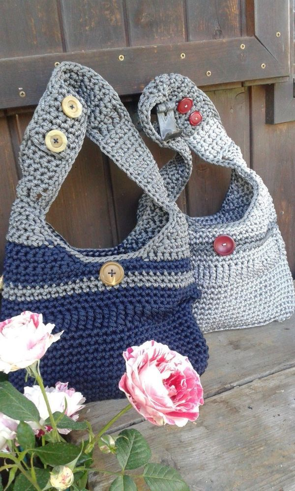 borsa in cordoncino thai fatta a mano/handmade bag