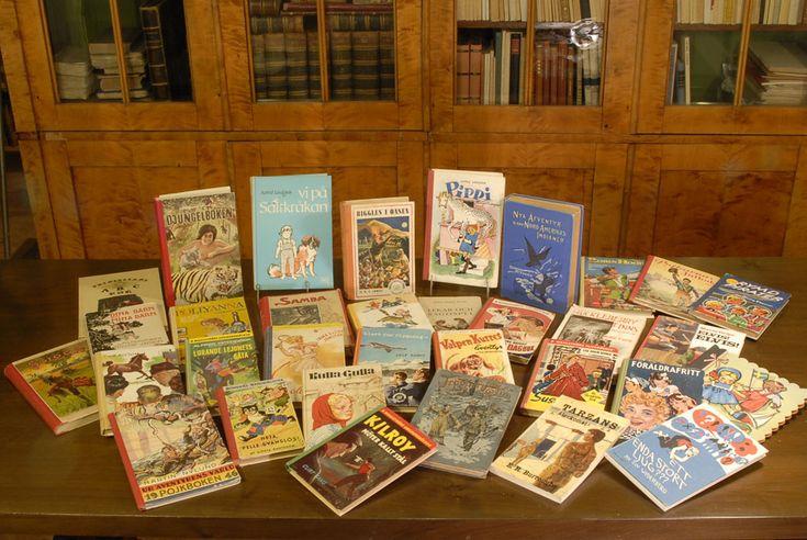 Vintage, Barnböcker