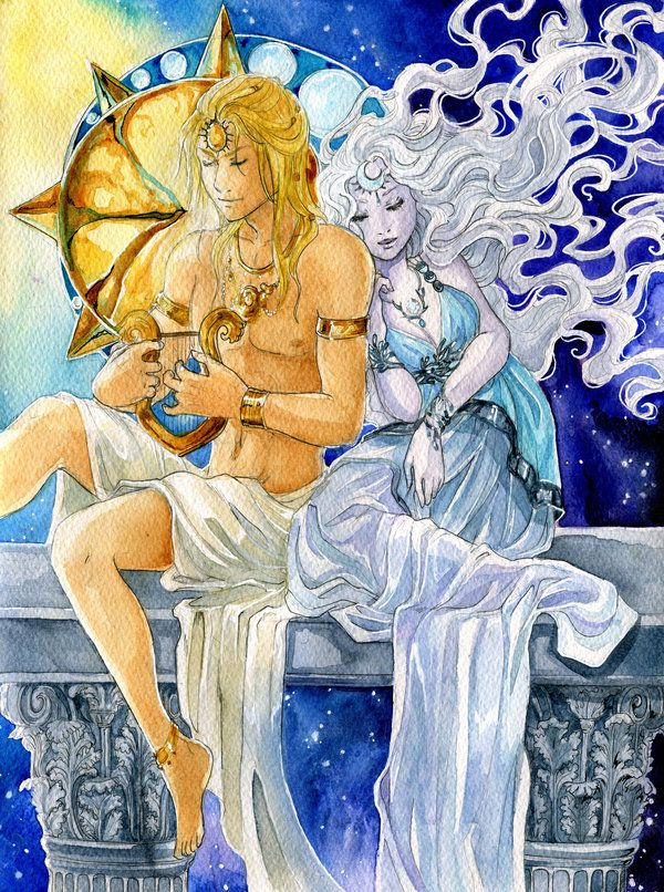 - Apollo and Artemis - by ooneithoo.deviantart.com on @DeviantArt