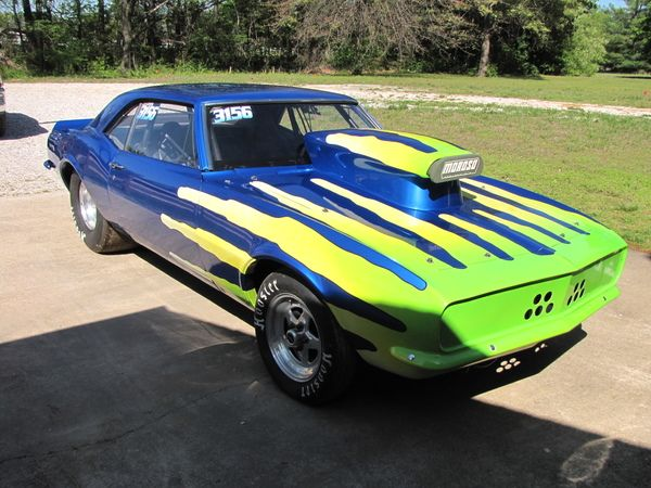 68 camaro drag car with enclosed trailer for sale in garfield ar racingjunk classifieds go. Black Bedroom Furniture Sets. Home Design Ideas