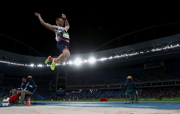 Jumping for an Olympic Medal