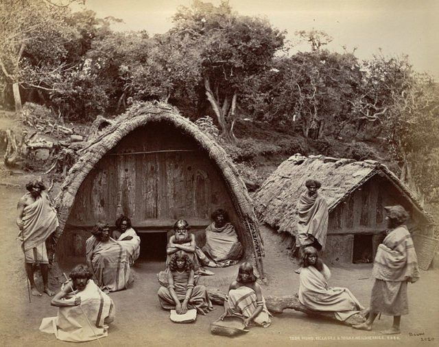 The Toda People A Small Pastoral Tribe With A Fascinating Social Life And Rich Cultural History Thatched Roof House Roof Hunt Scene