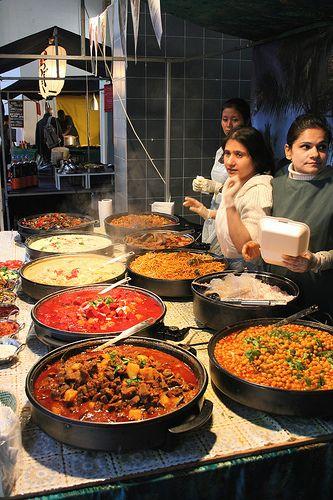 Street food, London