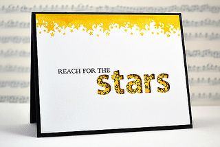 Jennifer Rzasa by Paper Crafts Photos, via Flickr: Cards Design, Cards Ideas, Negative Space, Handmade Cards, Stamps Sets, Holidays Cards, Graduation Cards, Paper Crafts, Stars Cards