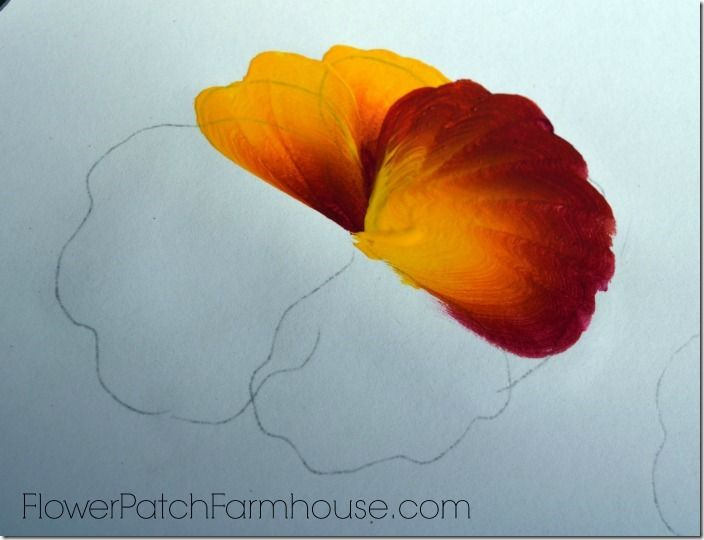 Learn to paint a pansy one stroke at a time pansies for Learn to paint with acrylics