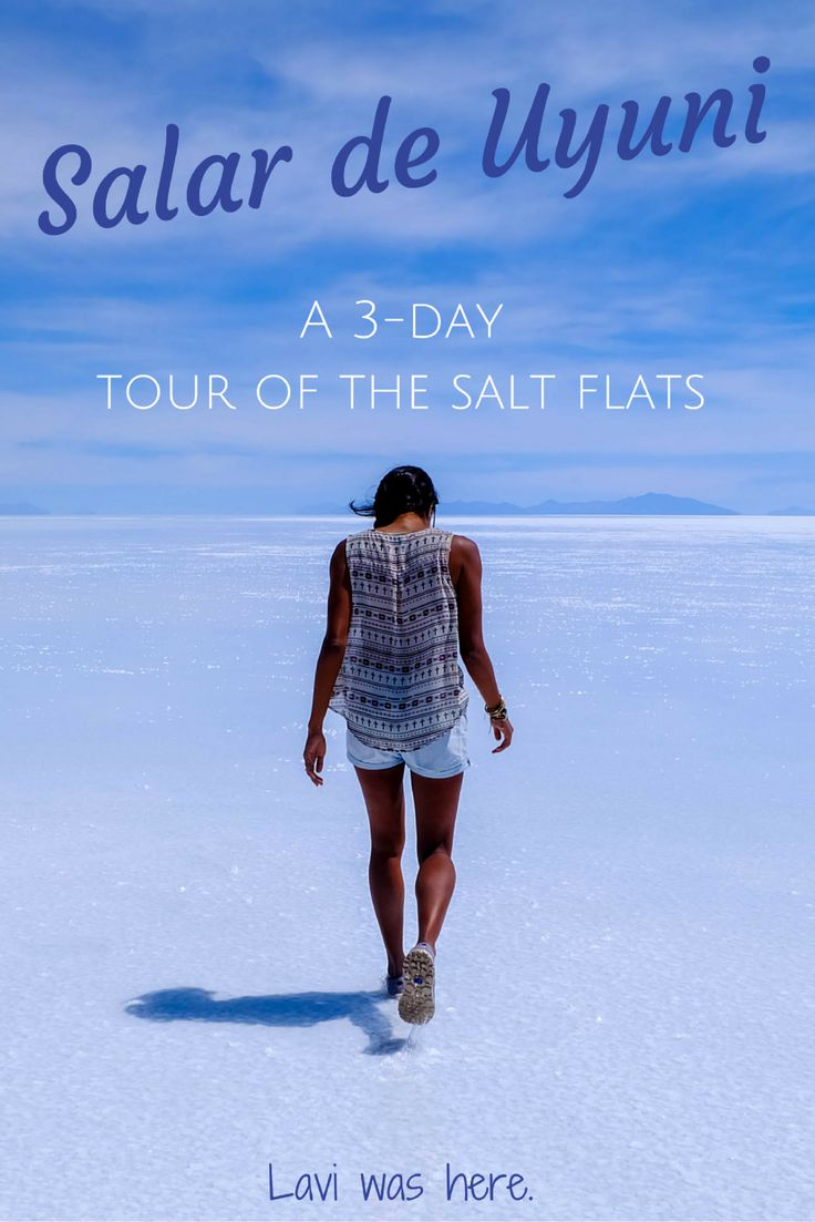 Bolivia's Salt Flats: A 3 Day Salar de Uyuni Tour | One of my favorite parts of South America was the salt flats in Bolivia. 3 days on a tour of Salar de Uyuni was the best way to experience the beauty in this part of the world. | Lavi was here.