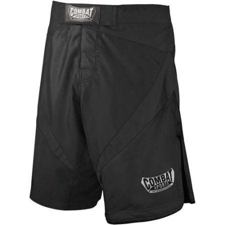 Combat Sports Fight MMA Boardshorts, Size: 34, Black