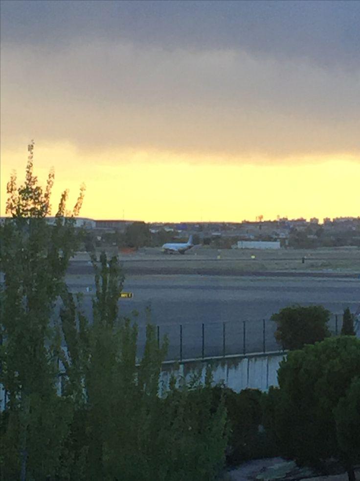 Aeropuerto Barajas  Una tarde triste.