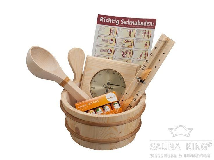 Sauna Zubehörbox