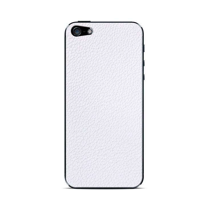 Para iPhone 5Incluye lámina protectora frontal y traseraPara retirar skin fácilmente luego de uso, instalar lámina protectora trasera incluida y luego skin sobre ella.Cuero Auténtico Garantizado