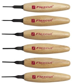 Micro carving tools for carving fine detail