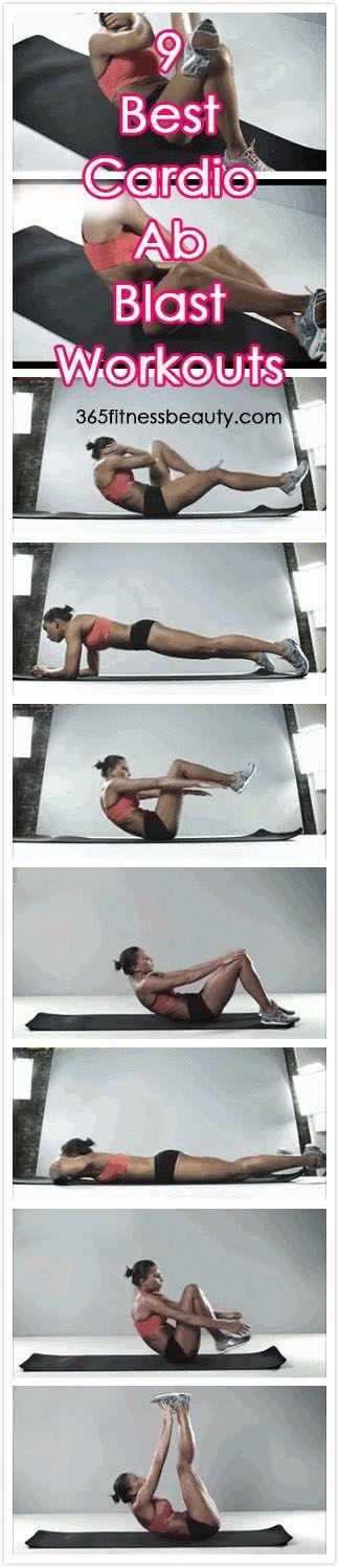 9 Best Cardio Ab Blast Workouts