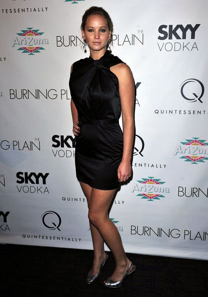 "Jennifer Lawrence Photos: ""The Burning Plain"" New York Premiere - Inside Arrivals"