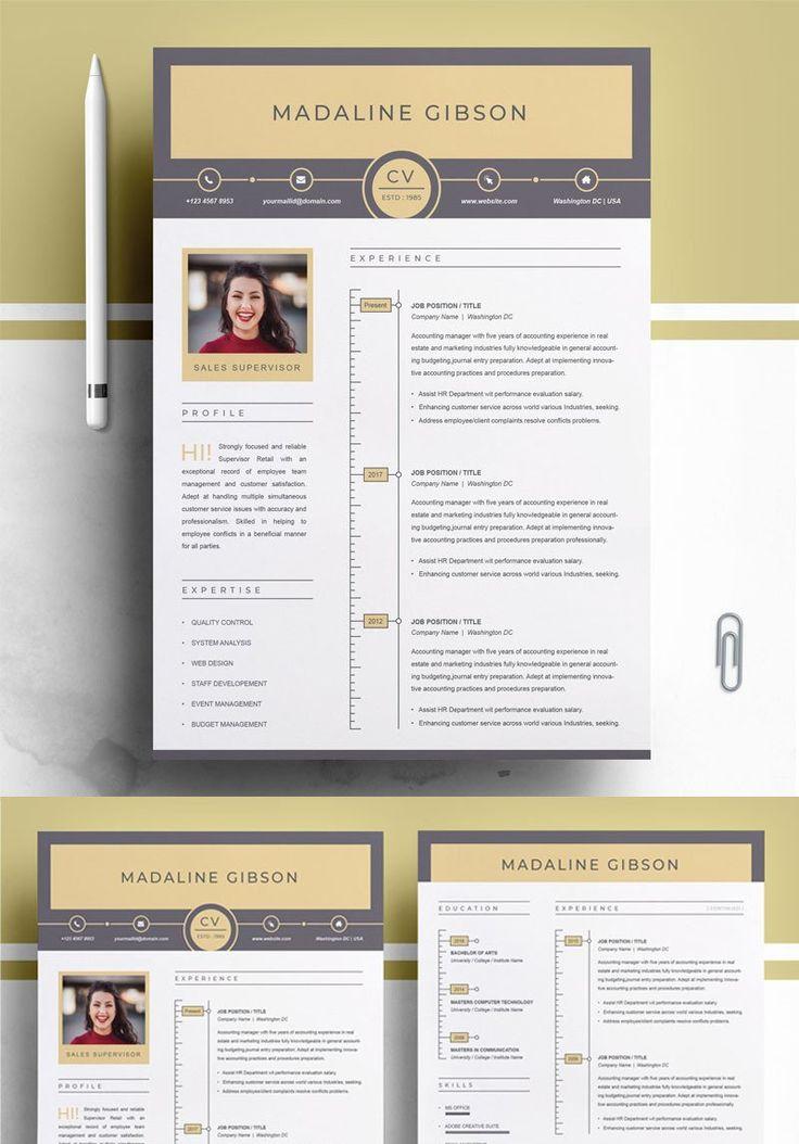 Madaline Gibson Resume Template 77018 Resume template