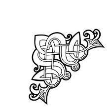 celtic stencils for corners - Google Search