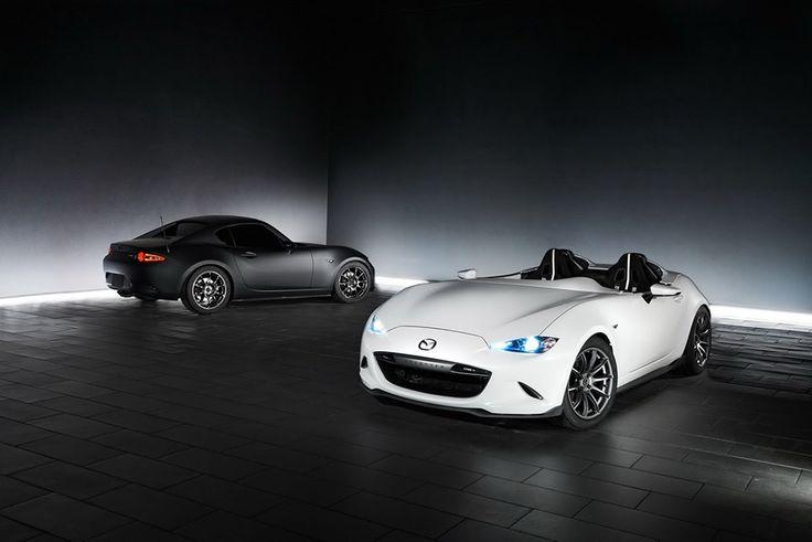 SEMA 2016 – Mazda MX-5 RF Kuro Concept & Mazda Speedster Evolution Concept