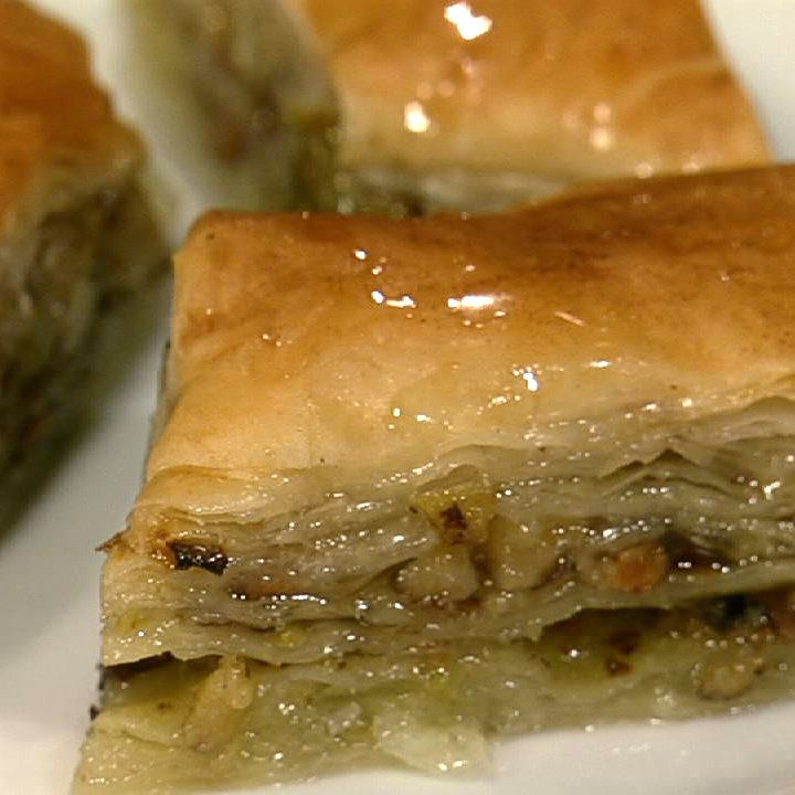the chew | Recipe  | Michael Symon's Baklava