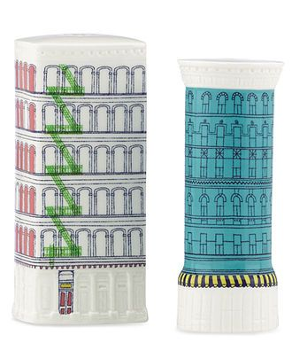 kate spade new york Dinnerware, About Town Building Salt and Pepper Shakers - - Macys
