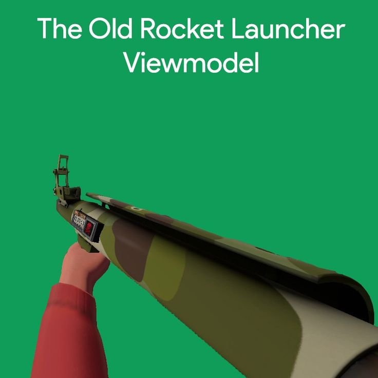 Here is a mod I made that brings back the old Rocket Launcher viewmodel (removes the right trigger handle) #games #teamfortress2 #steam #tf2 #SteamNewRelease #gaming #Valve