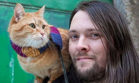 James Bowen and Bob the cat: 'He's named after the killer in Twin Peaks'
