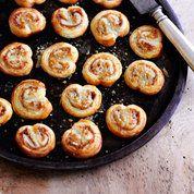 Parma ham and Parmesan palmiers | Easy canapé recipes