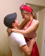 Coolest couples Halloween costumes - The Notebook Noah and Allie Homemade Costume