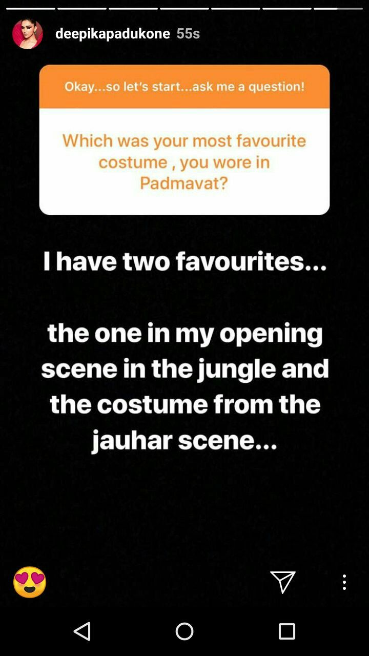 Fans Ask Questions Regarding Padmavat And Her To Deepika Padukone This Or That Questions Deepika Padukone Let It Be