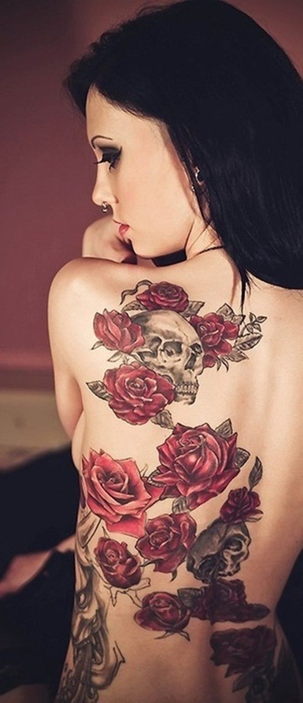 105 Red Ink Tattoo Designs For Body Art Inspiration