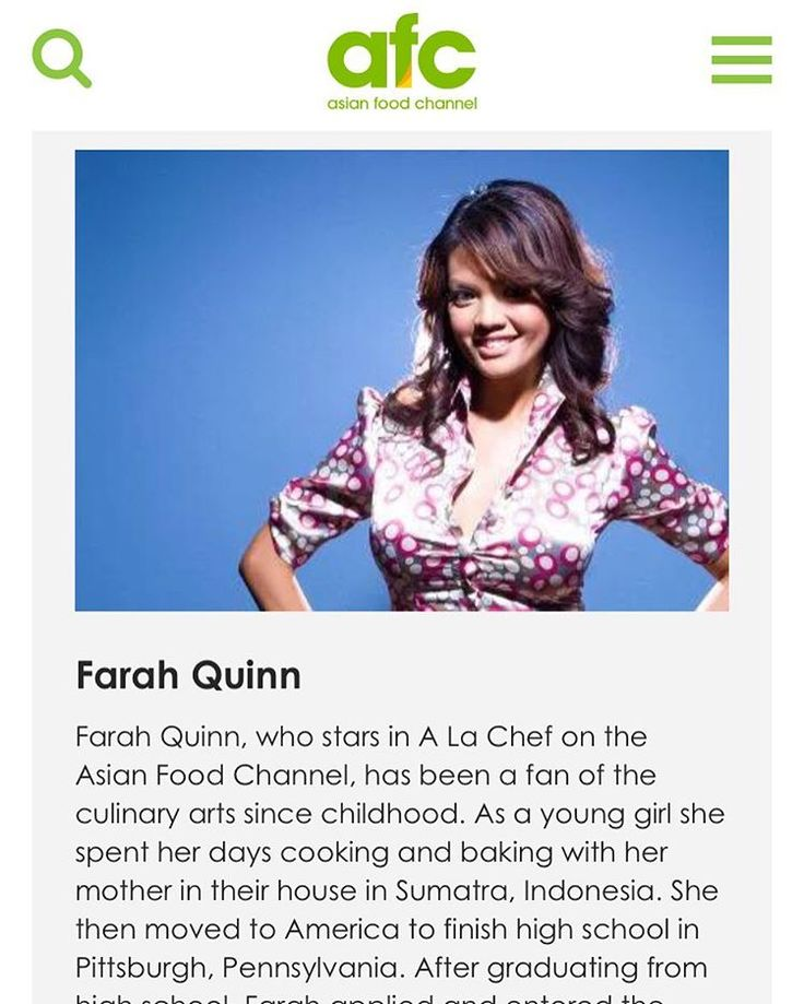 Farah Quinn @farahquinnofficial was being judge of The Big Break - Asian Food Channel Singapore 2012 | source : www.asianfoodchannel.com  #FarahQuinn #FarahQuinnOfficial #celebrity #chef #TV #Show #TheBigBreak #AsianFoodChannel #AFC #singapore #judge #2012 #throwback #personality #public #figure #artist #shooting #love #Quinners #followme @quinnersofficial http://tipsrazzi.com/ipost/1513601682704302098/?code=BUBZLYFBgAS