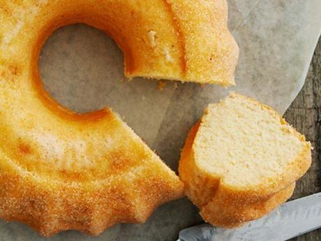 Traditional Swedish vanilla bundt cake