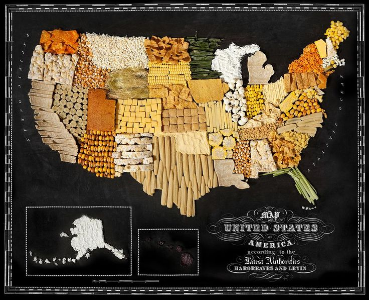 Food maps USA