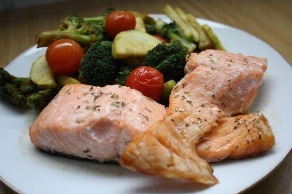 Fotorecept: Pečený losos - Recept pre každého kuchára, množstvo receptov pre pečenie a varenie. Recepty pre chutný život. Slovenské jedlá a medzinárodná kuchyňa