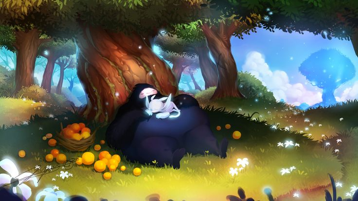 Ori and the Blind Forest fan art by Steam user Pokganyap