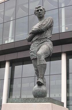 Bobby Moore statue by Philip Jackson, Wembley Stadium
