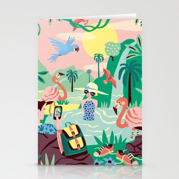 """""""Paradise"""" by artist Marijke Buurlage. Each purchase supports the artist. The…"""