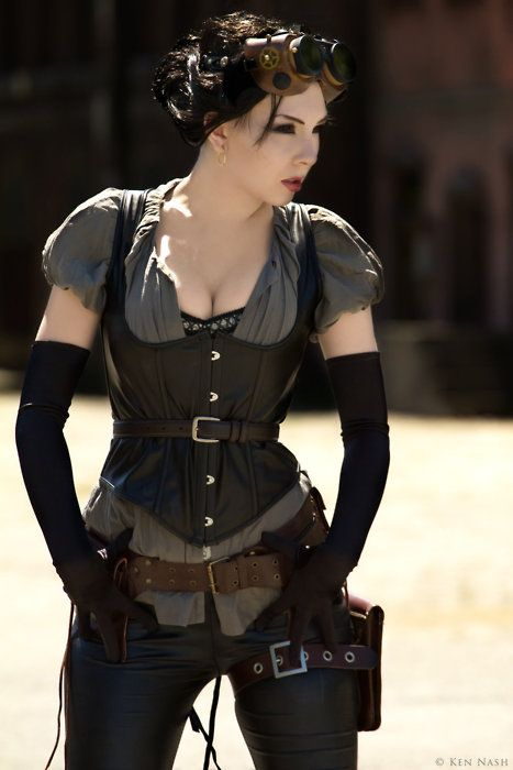 Steam punk look