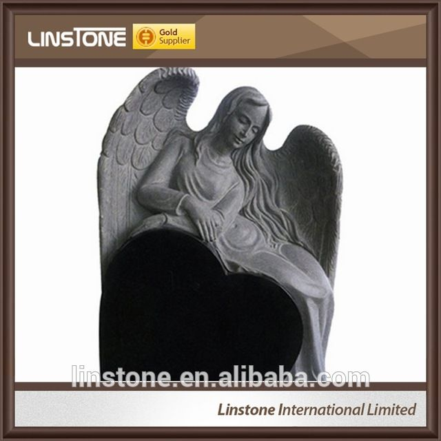 Source Big Gentle Angel Granite Tombstone Headstone For Sale on m.alibaba.com