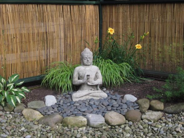 Bon Mexican Black Stones And River Rock. Buddha GardenZen Rock GardenJapanese  ...