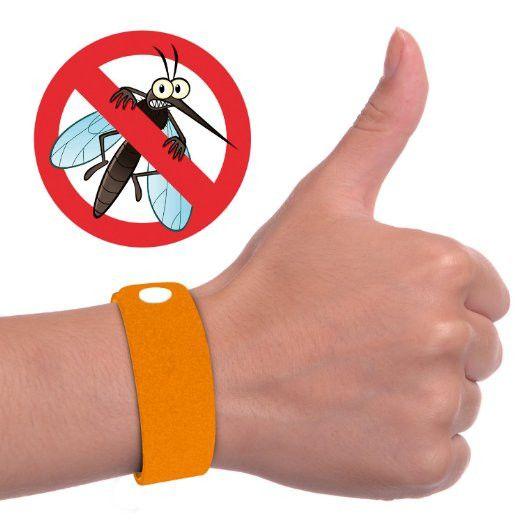 6 Pack Mosquito Repellent Bracelet - Microfiber DEET FREE Adjustable Waterproof Wristband (Repels Mosquitoes, Flies, Bed Bugs and More)