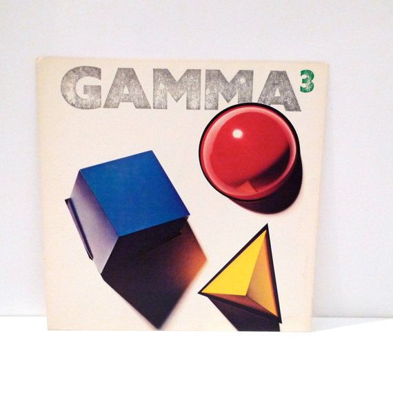 Gamma+3+Poster+1982+Vintage+Ronnie+Montrose+Band+1980s+Record