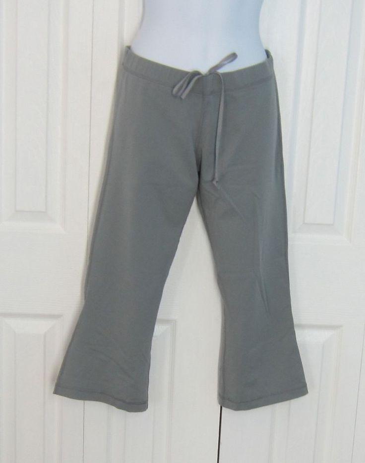 Lululemon crop pants kick pleat gray grey 8 #Lululemon #PantsTightsLeggings