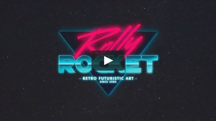 The Rolly Rocket Logo animation made as a brand for video intros and stuff.